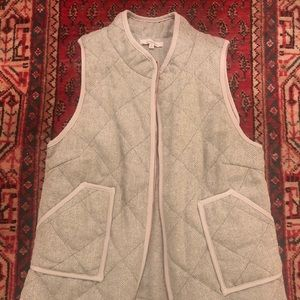 Grey and White 41 Hawthorn Vest Size Large